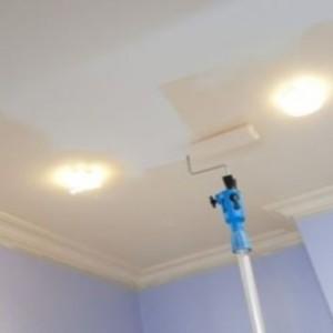 Потолок и стены в ванной комнате — чем их красить?