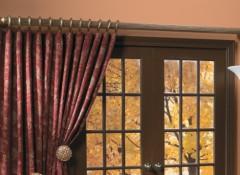 Конструкция и особенности крепления деревянных карнизов для штор
