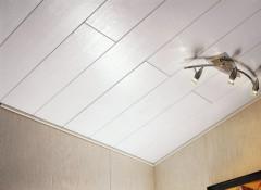 Потолок своими руками из МДФ панелей