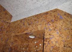 Как своими руками сделать потолки из пробки