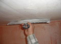 Различные методы выравнивания потолка