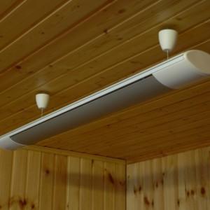 Отопление для дачи — потолочные конвекторы