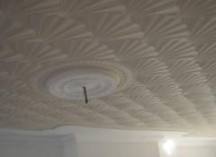 Как своими руками выполнить декоративную шпаклевку потолка