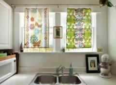 Какой выбрать, плюсы и минусы различных карнизов для штор на кухню