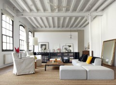 Как своими руками сделать потолок в стиле лофт?