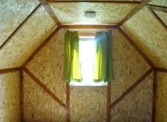 Особенности потолка из осб плит и его отделка