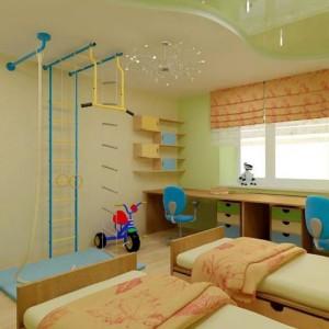 Варианты отделки потолка в комнате подростка