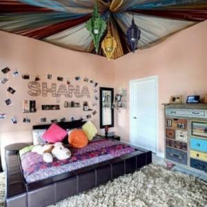 Особенности и варианты оформления потолка в комнате подростка-девочки