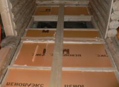 Утепление потолка снаружи с помощью пенополистирола
