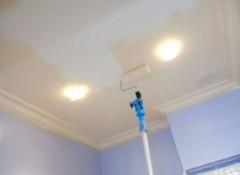 Потолок из гипсокартона — финишная отделка