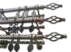 Виды, особенности и преимущества двухрядных металлических карнизов