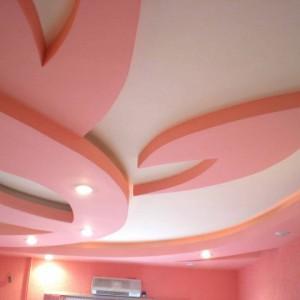 Как сделать двухъярусный потолок из гипсокартона