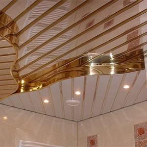Особенности и порядок монтажа многоуровневых реечных потолков
