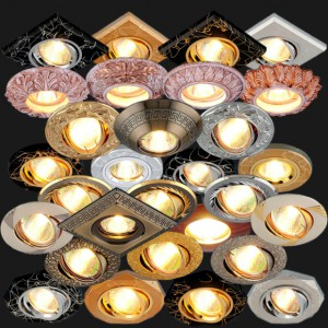 Особенности применения галогеновых светильников для подвесных потолков