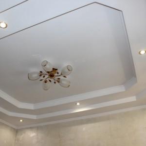 Особенности и преимущества трехуровневого потолока из гипсокартона