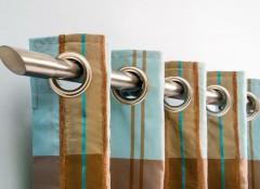 Разновидности и преимущества настенных металлических карнизов для штор