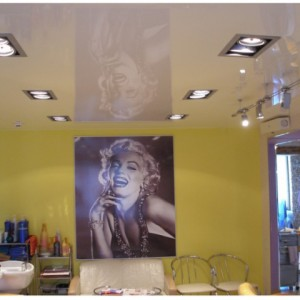 Использование для натяжных потолков квадратных светодиодных светильников