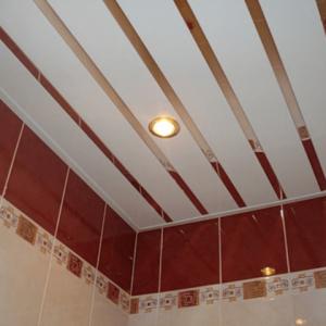 Как без подвесов выполнить монтаж реечного потолка?