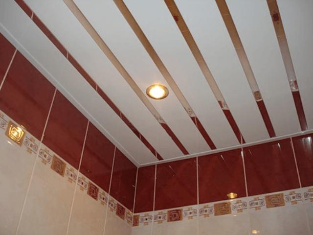 Как делать реечный потолок 41