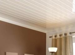 Облицовка пластиковыми панелями потолка своими руками