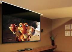 Виды и особенности потолочных экранов для проектора