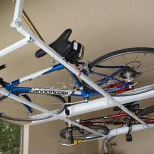 Виды и особенности потолочных подвесов для велосипеда
