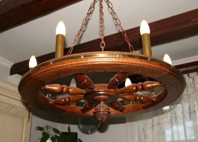 Декоративные светильники из дерева своими руками фото 36