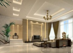 Особенности трехуровневых подвесных потолков с подсветкой