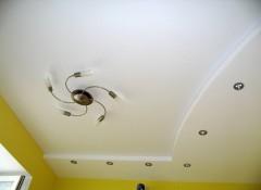 Как из пенопласта сделать волну на потолке?