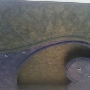 Особенности применения на потолке веницианской штукатурки бурано