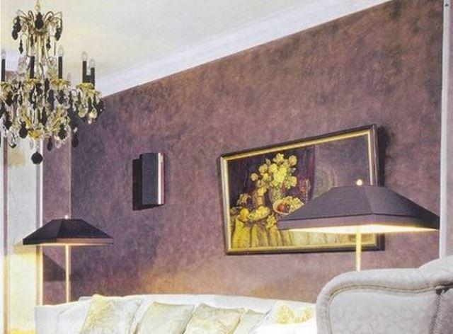 Венецианская штукатурка дизайн зала