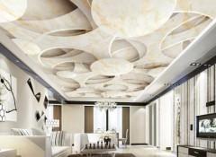 Виды, преимущества и недостатки 3d обоев на потолок