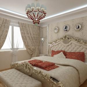 Стиль барокко в оформлении спальни