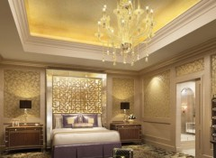 Особенности выбора люстры для спальни в классическом стиле