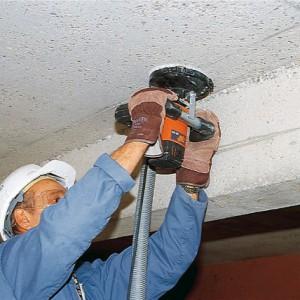 Способы и порядок шлифовки бетонного потолка