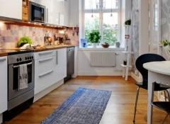 Использование в интерьере кухни скандинавского стиля
