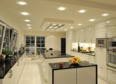 Виды и способы установки точечных светильников для натяжных потолков