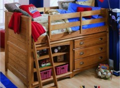 Особенности и отличия детской кровати-чердака