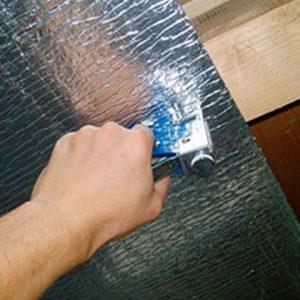 Использование отражающей теплоизоляции для утепления потолка