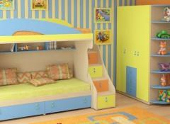 Преимущества, недостатки и особенности кровати-чердака с диваном