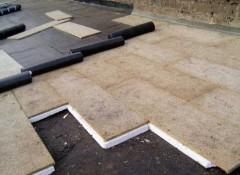 Как утеплить плоскую крышу?