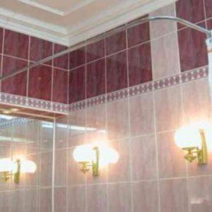 Угловой карниз для ванной своими руками