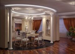 Овальный подвесной потолок — особенности, плюсы и минусы