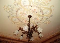 Особенности и материалы для отделки потолка в стиле шебби шик