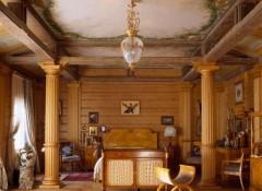 Оформление дома или дачи в стиле русская усадьба