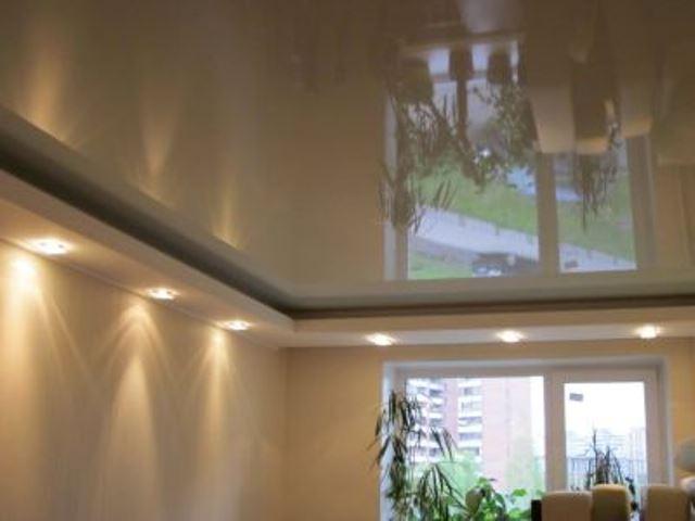Натяжной потолок: характеристики и виды натяжных потолков
