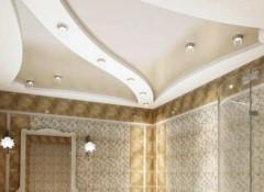 Влагостойкий подвесной потолок — преимущества и варианты материалов