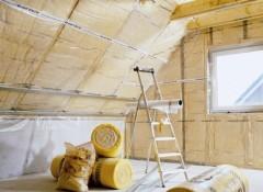 Потолок на чердаке — чем и как лучше утеплить?
