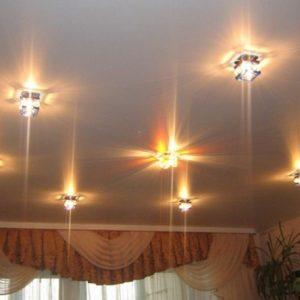 Фонарики для потолка — виды и применение