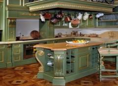 Использование стиля барокко в оформлении кухни